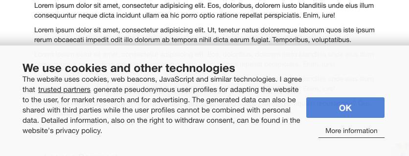 GDPR compliance - Adserver.Online