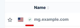 Custom email domain - Mailgun verified
